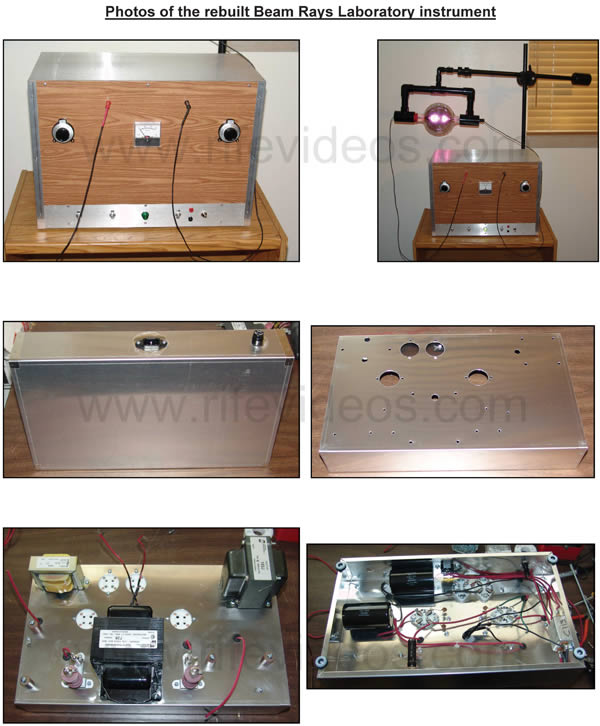 Beam Rays Rife Machine dual oscillator instrument