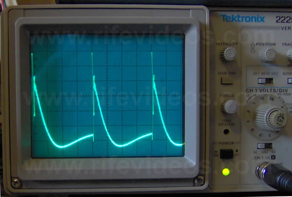 Gruner Rife Machine Waveform