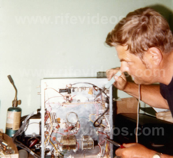 Marsh Rife Machine 1970 Photo
