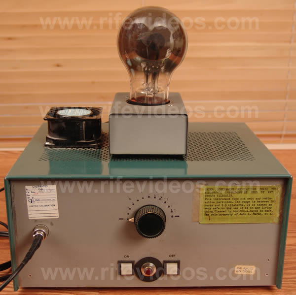 original rife machine