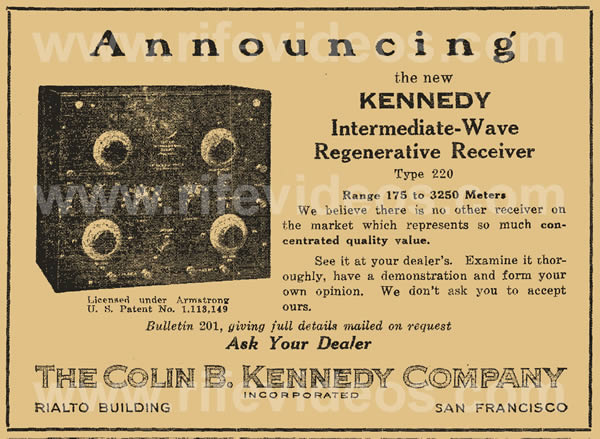 Kennedy Model 220 Advertisment