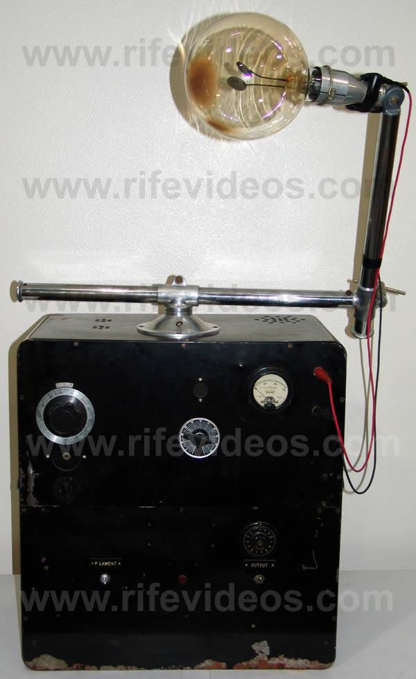 dr rife machine