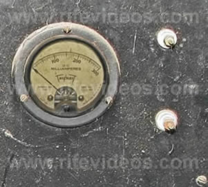 Rife Machine Milliamp Meter