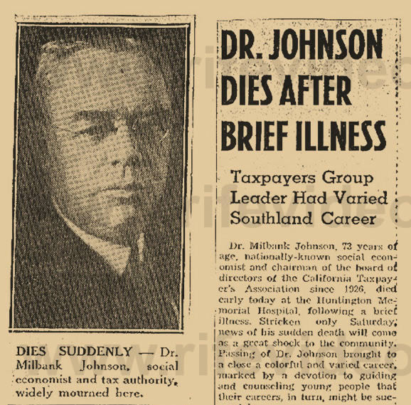 Dr. Johnsons Obituary