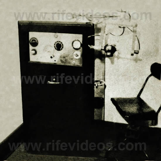 Instructions for the use of RIFE FREQUENCY INSTRUMENTS