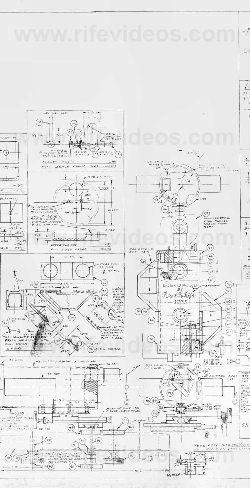 Blueprints For A Modern Four Bedroom Home: Dr. Rife's Universal Microscope Blueprints