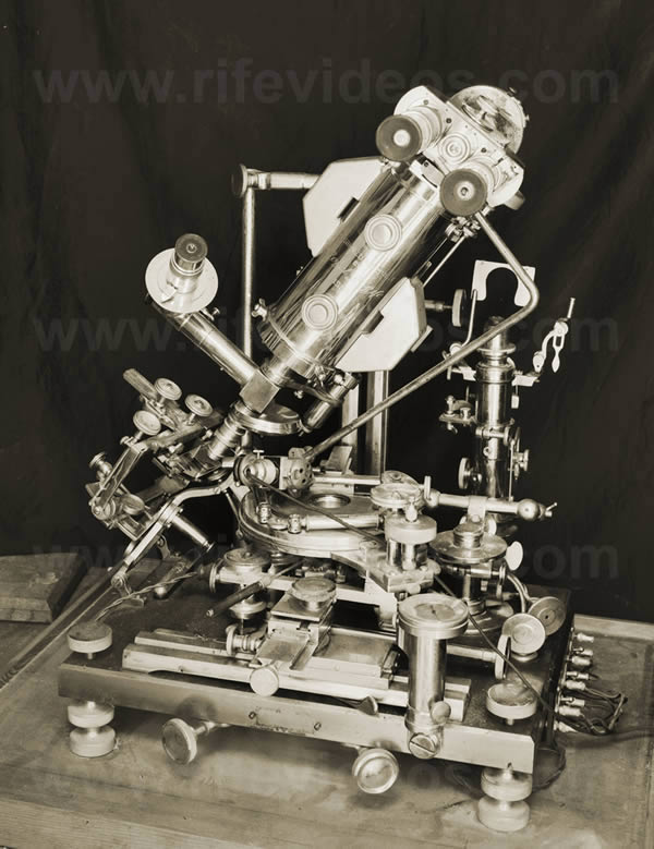 Dr. Rife's First Microscope